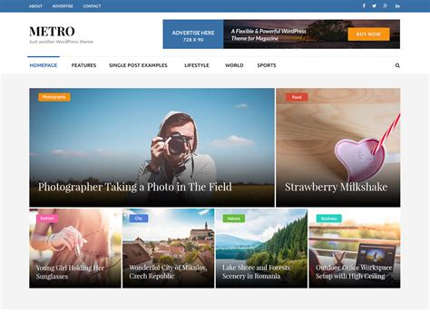themes wordpress metro theme directory free wordpress themes