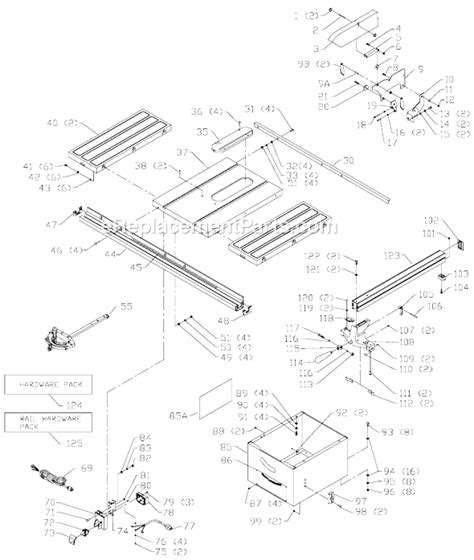 delta 36 650 parts list and diagram type 1