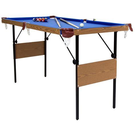 4ft 6 Folding Pool Table Savvysurf Co Uk