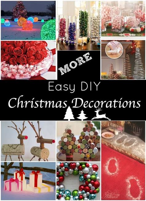 the best diy holiday decor on pinterest diy christmas