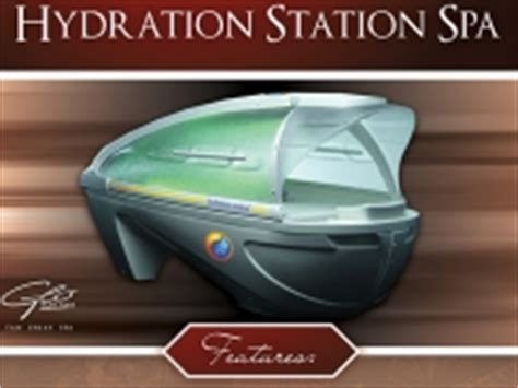hydration station spa hydration station glo sun spa