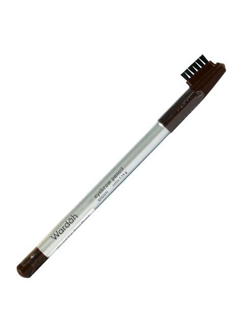 Wardah Eyebrow Pensil Alis 1 wardah eyebrow pencil brown pcs 1 14g klikindomaret