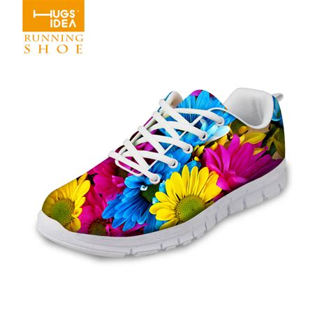 colorful shoes 2016 shoes colorful printed breathable flats