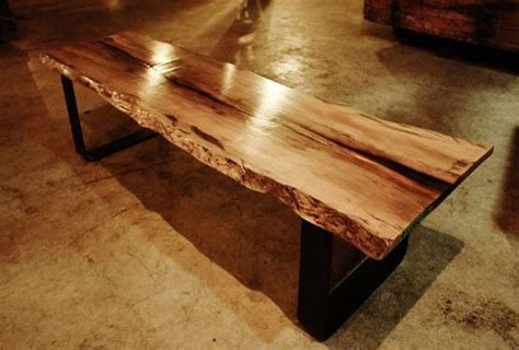 sycamore woodworking live edge wood slab bench spalted sycamore by
