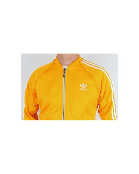 Adidas Tracking Yellow adidas originals superstar track top yellow white adidas