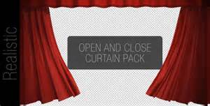 Industrial Drapes Curtain Open And Close Pack By W A K A Videohive