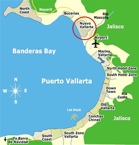 vallarta map of mexico mexico map nuevo vallarta