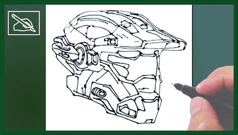 imagenes de halo para dibujar a lapiz c 243 mo dibujar un casco de halo how to draw a halo helmet