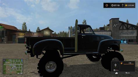 1950s Ls by 1950 Chevy 4x4 Truck V1 0 Fs17 Farming Simulator 17 2017 Mod