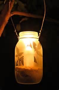 Diy Lantern Lights Diy Frosted Garden Lanterns