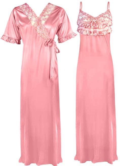 Original Hm Soft Lace Sleepwear satin lace sleeve chemise womens nightie