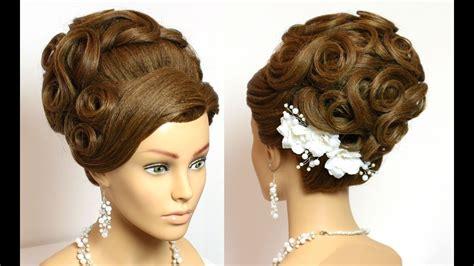 hairstyle  long hair tutorial wedding bridal updo