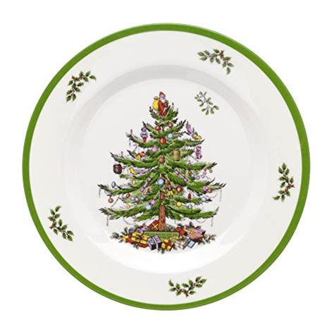 spode christmas tree melamine salad plate set of 4
