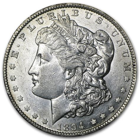 1894 silver dollar 1894 o dollar au dollars 1878 1904