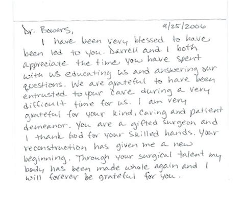 thank you letter to my eye doctor testimonials greensboro nc dr david bowers