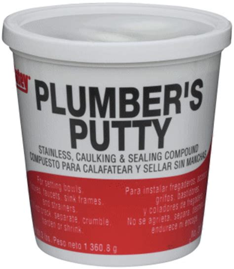 Plumbers Putty Faucet by Hercules 25171 14 Oz Sta Put Ultra Phwarehouse