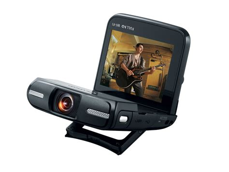 Canon Introduce 2 New Camcorders To Their Mini Dv Line by Canon Announces Unique Vixia Mini Camcorder With Fisheye