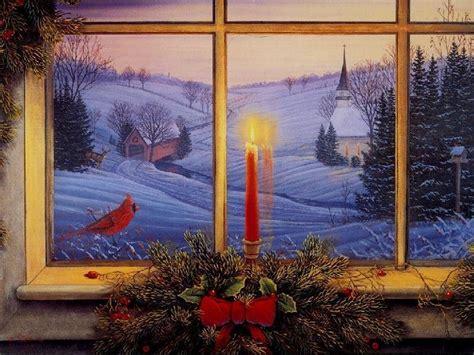 computer wallpaper christmas scenes christmas scenes free desktop wallpapers