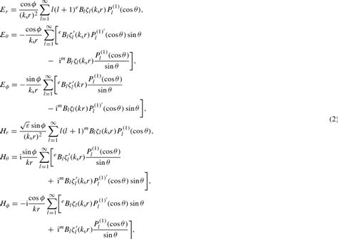 solution of diffusion equation in spherical coordinates