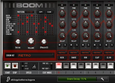 tutorial virtual drum electro pro boom pro tools virtual drum machine tutorials videos