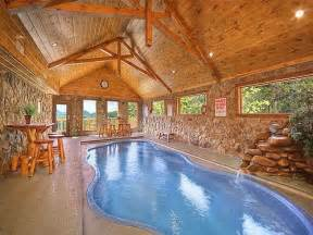 Cabins In Pigeon Forge Tn With Indoor Pool by Eagles Rest 4 Bedroom Cabin Rental Pigeon Forge And