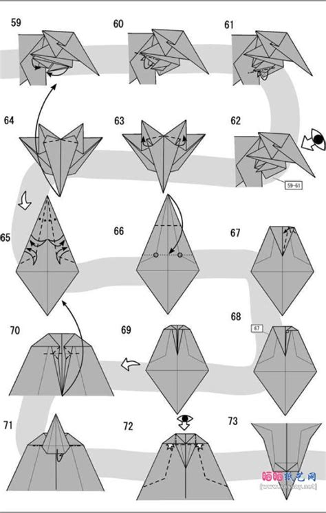 On How To Make Origami - free coloring pages how to make origami
