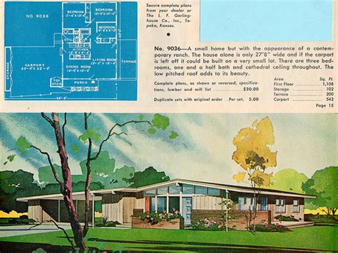 mcm houseplans flickr photo sharing ranch and suburban home plans by garlinghouse flickr