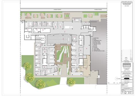 Floor Plan Layouts gucci headquarters genius loci architettura archdaily