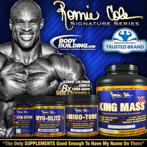 Ronnie Coleman Supplement ronnie coleman signature series launches on bodybuilding