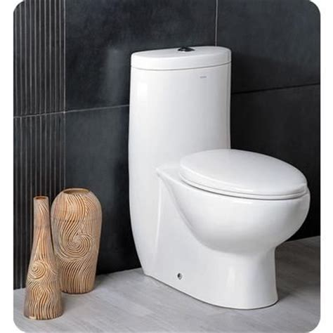 modern toilets canada fresca delphinus one piece dual flush toilet with soft