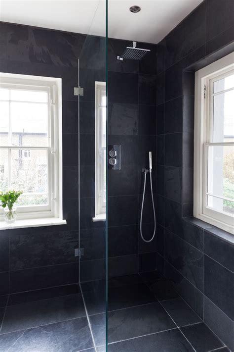 best 25 slate shower ideas on pinterest slate bathroom black slate tile shower www pixshark com images