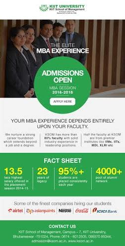 Scms Mba Admission 2016 by Emailers E Squared
