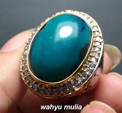 Jual Cincin Bacan batu cincin bacan asli ukuran besar kode 887 wahyu mulia