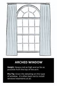 Properly Hang Curtains Decorating Best 25 Arched Window Curtains Ideas On Arched Window Treatments Arch Window