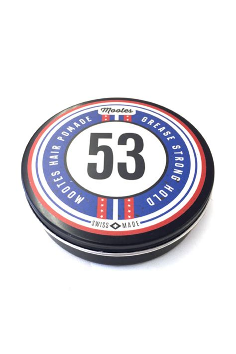 Pomade Grease mootes haarpomade 53 grease strong hold kosmetikladen
