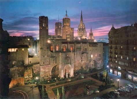 barri gotic barcelona historical building   world