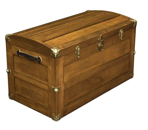 wooden trunk amish storage steamer trunk wooden wood cedar chest new ebay