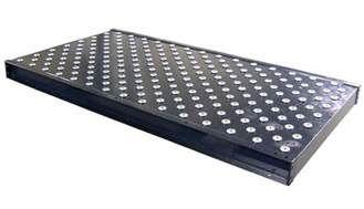 omni metalcraft corp ball transfer tables low