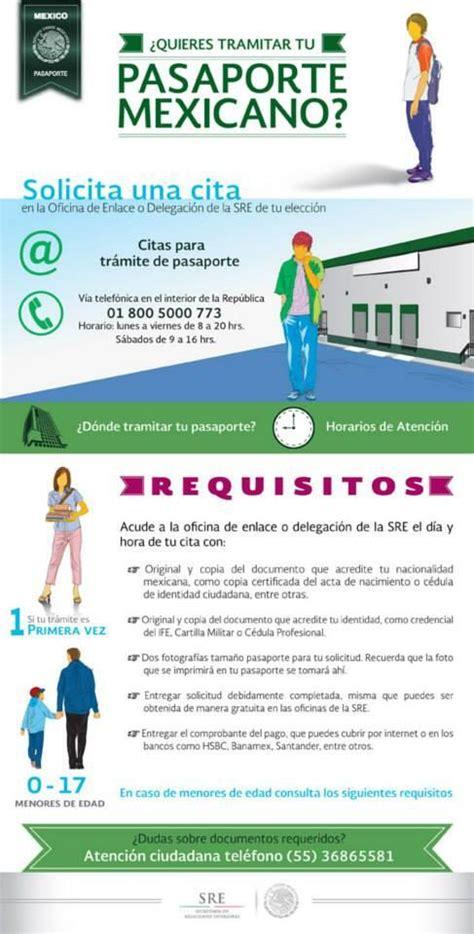 requisitos para el pasaporte mexicano 2016 requisitos para el tr 225 mite de pasaporte mexicano nuevo