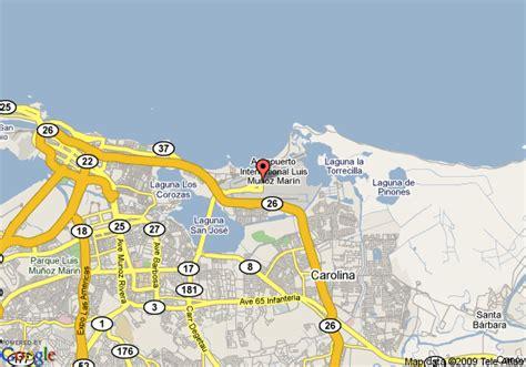 sju airport map best western san juan airport hotel and casino carolina