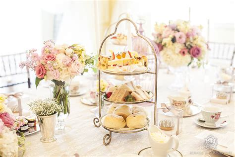 afternoon tea wedding reception ideas fairmont royal york wedding toronto rowell photography