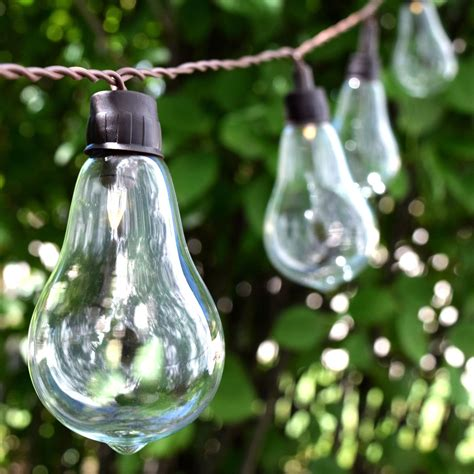 Outdoor String Lights Solar Powered Solar Powered Patio Lights String Image Pixelmari