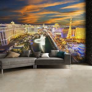 wall mural photo wallpaper 315x232cm las vegas usa night vegas lights c836 wall mural