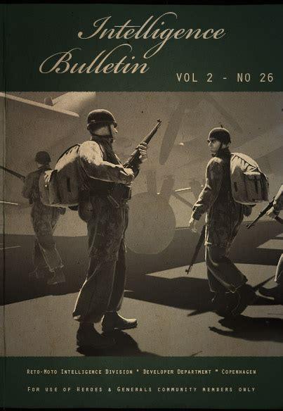 The Generals Vol 2 intelligence bulletin vol 2 no 26 news heroes