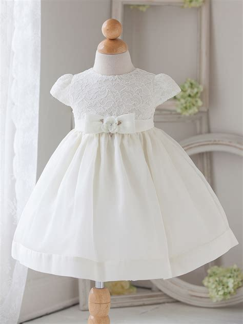 baby white vintage charm lace dress