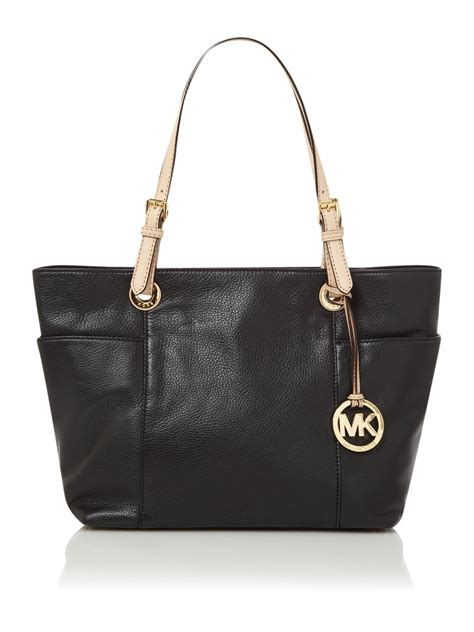Bag Item michael kors jet set item tote bag in black lyst