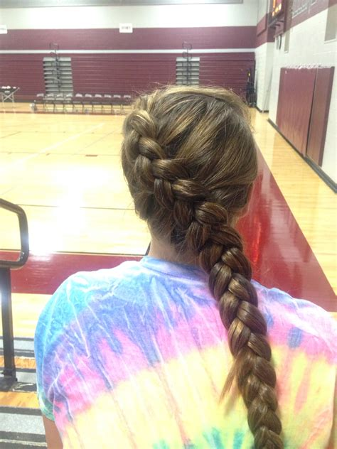 hairstyles for basketball games volleyball hair sporty hair pinterest volleyball