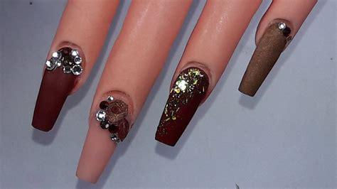 imagenes de uñas acrilicas con swarovski rojo divino u 241 as acrilicas by merry peticiones youtube