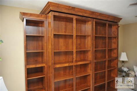 Diy Bookshelf Plans Murphy Wall Beds Lift Amp Stor Beds