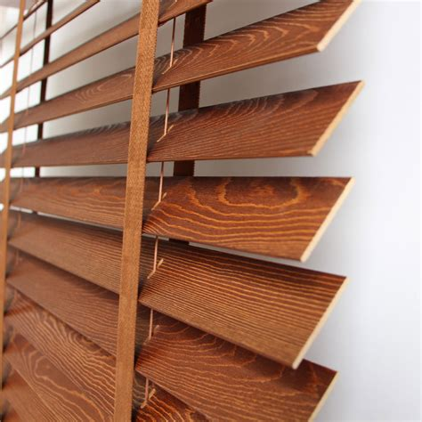 Custom Wood Window Blinds Custom Wood Blinds High End Environmentally Friendly